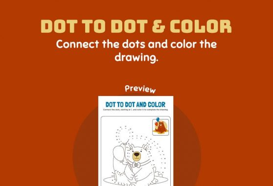 Art - Dot to dot & color