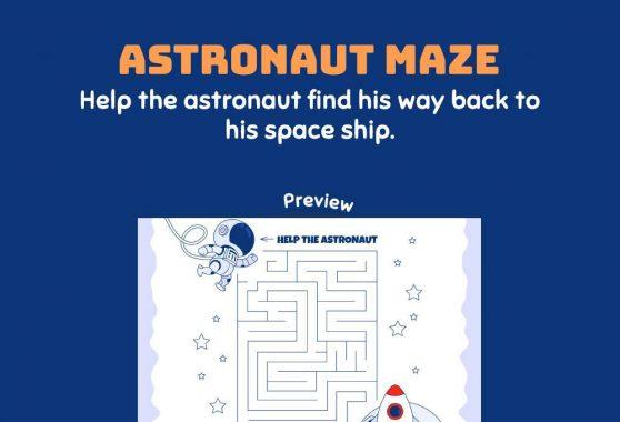 Logic & Puzzles - Astronaut Maze