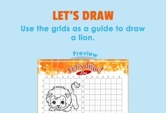 Art - Let's Draw: Lion
