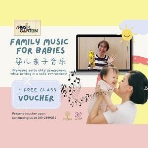 Family Music for Babies (Musikgarten) Online Programme @ Polka Dot Train Studio, Sungai Buloh