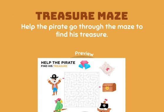 Logic & Puzzles - Treasure Maze