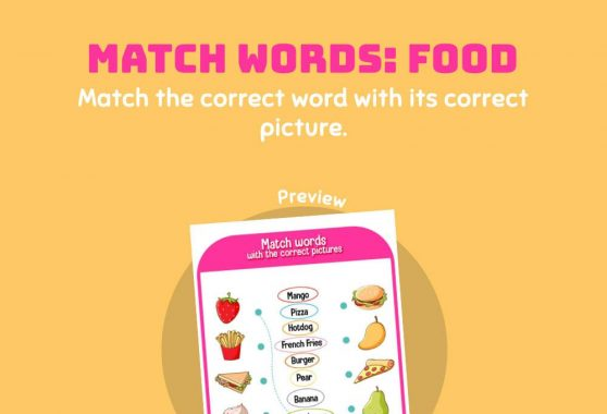 Language - Match the Word: Food